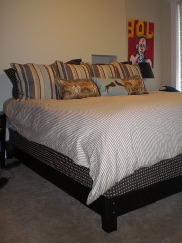 Bed before